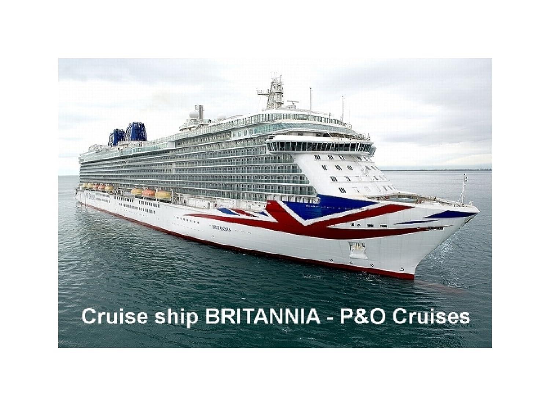 CRUISE SHIP FRIDGE MAGNET BRITANNIA PO CRUISES Amazoncouk - Britannia cruise ship