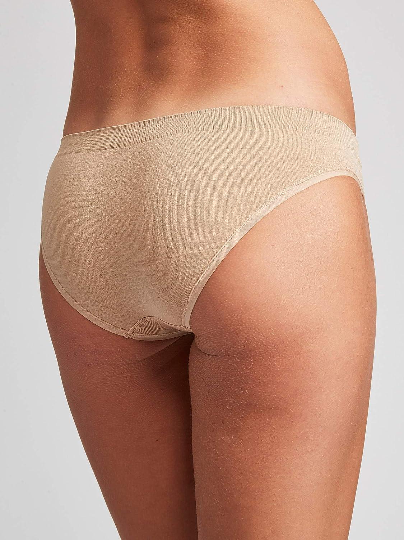 Kalon 6-Pack Womens Cheekini Bikini Soft Stretch Panties