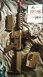 src dragon sport series sr4a1 metal gb aeg rifle - tan(Airsoft Gun)