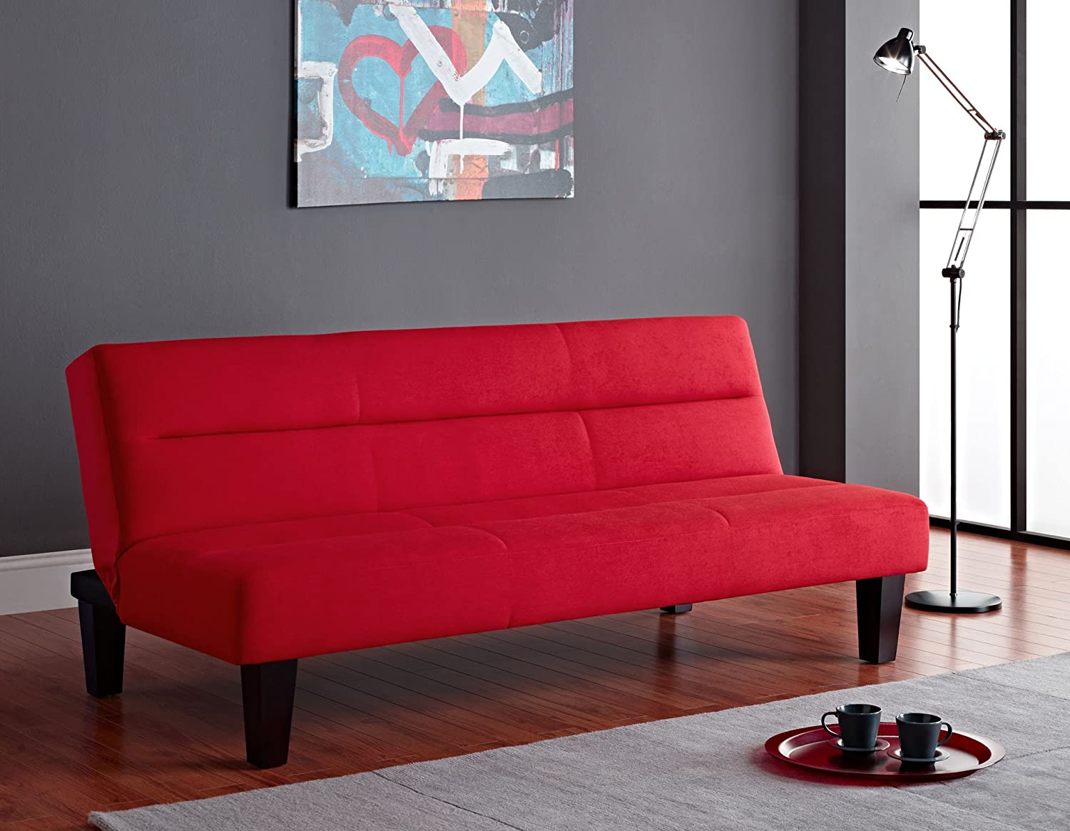 bed sofa futon very couch mattress microfiber inside storage folding chic