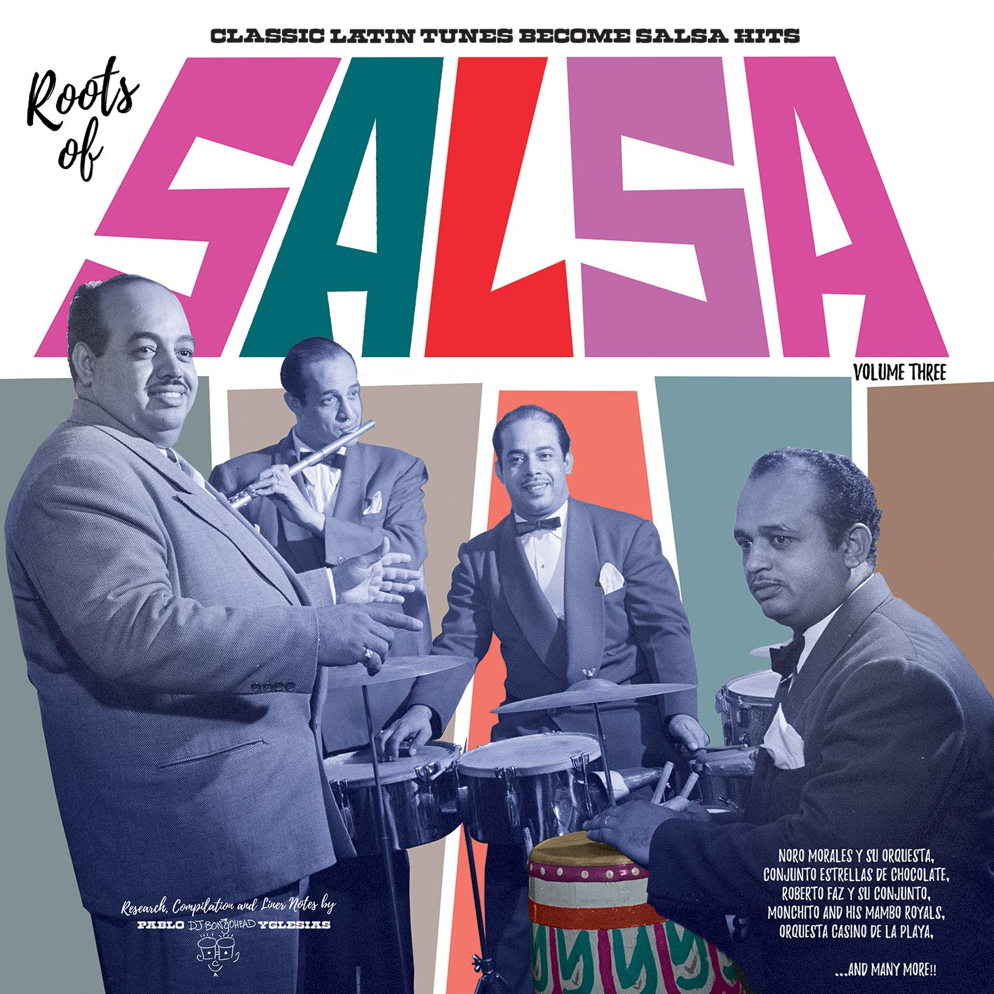 Vinilo : VARIOUS ARTISTS - Roots Of Salsa Volume 3: Latin Tunes Become Salsa (various Artists) (With CD, 2 Pack)