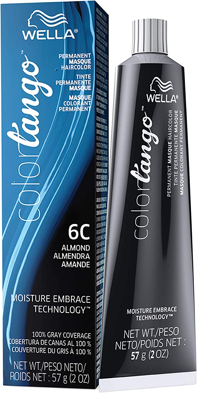 Wella Color Tango Permanent Masque Hair Color 2 Oz (6C Almond) by Color Tango