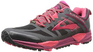 3d6b51124e5 Brooks Women s Cascadia 11 GTX Anthracite Teaberry Raspberry Radiance  Sneaker 5 B (M