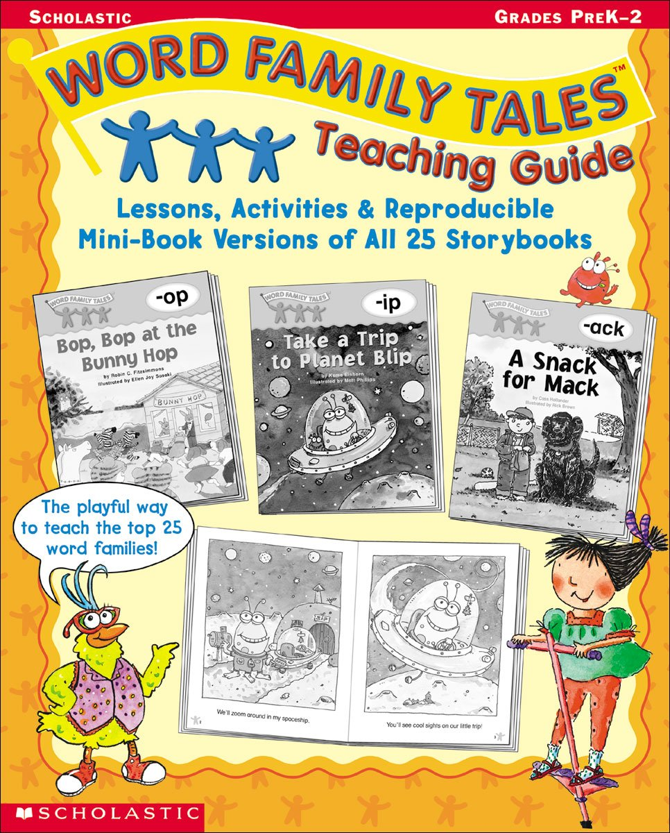 word family tales teaching guide scholastic inc 0078073262489 rh amazon com Scholastic Word Family Tales Og Word Family Tales