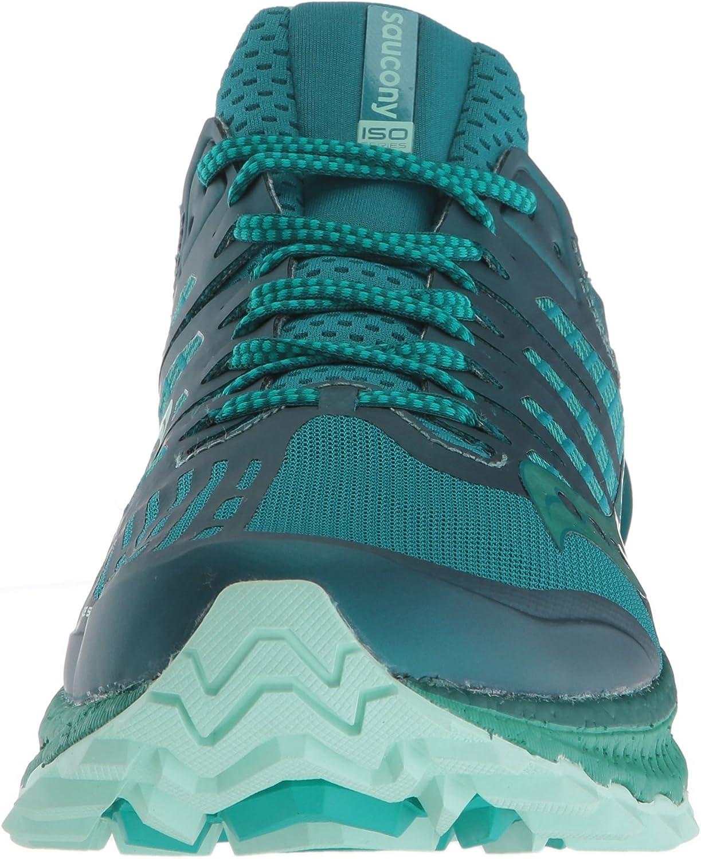 Amazon Com Saucony Women S Xodus Iso 3 Sneaker Road Running