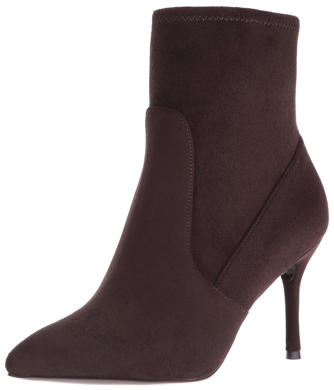 Nine West Women's Cadence Ankle Bootie B01KXV0636 8.5 M US|Dark Brown