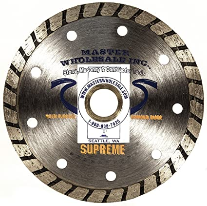 "Master Wholesale Supreme Turbo Diamond Blade (4.5"")"