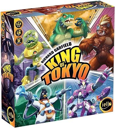 IELLO King of Tokyo Niños y Adultos Juego de táctica - Juego de Tablero (Juego de táctica, Niños y Adultos, 30 min, Niño/niña, 8 año(s), 66 Pieza(s)): Amazon.es: Juguetes y juegos