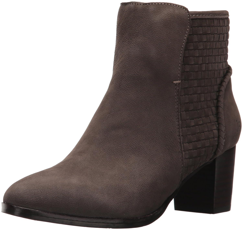 Jack Rogers Women's Deborah Ankle Boot B06WWMK4PW 6.5 B(M) US|Charcoal Suede