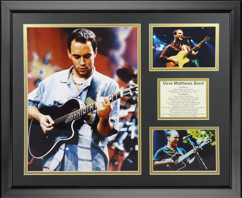 16 x 20 Legends Never Die Dave Matthews Band Framed Photo Collage