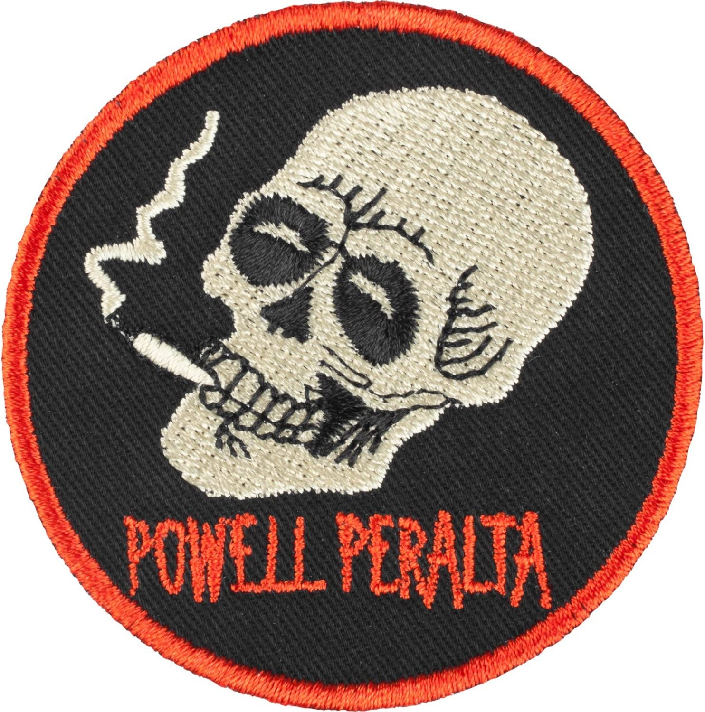 Powell-Peralta Smoking Skull Skateboard Patch 2.5 Round