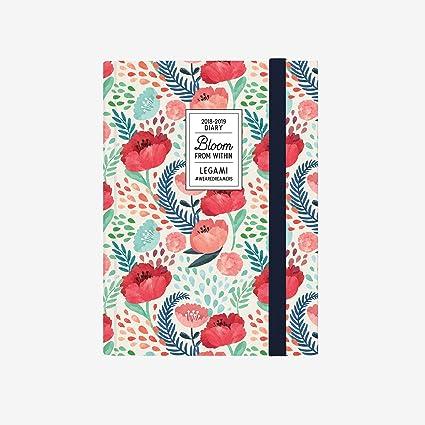 Legami AG160408 - Agenda foto 16 meses semanal con cuaderno ...