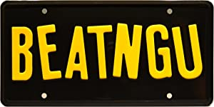 Celebrity Machines Jeepers Creepers | BEATNGU | Metal Stamped License Plate