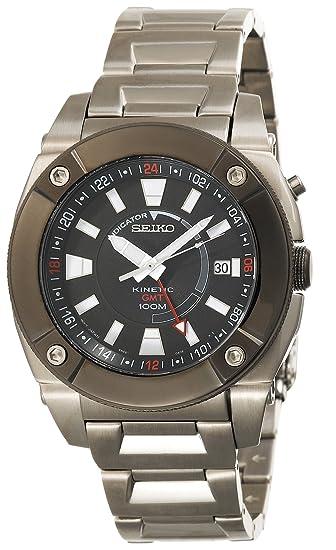 Seiko Watches SUN005 - Reloj de Pulsera Mujer Hombre, Acero Inoxidable, Color Plata: Amazon.es: Relojes