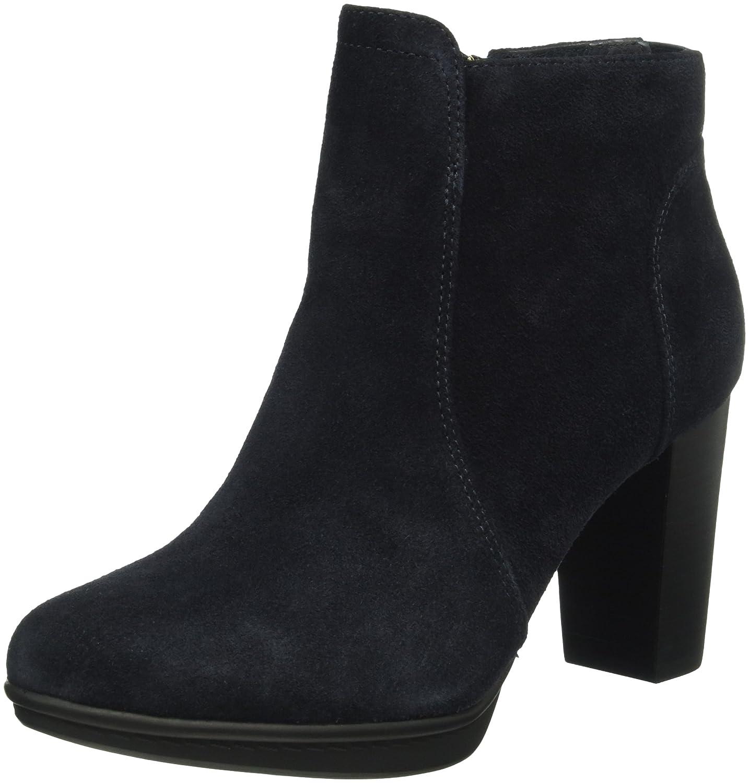 Tommy Hiliger J1285akima 8b, Zapatos de Tacón con Punta Cerrada para Mujer 40 EU|Midnight