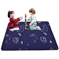 Washable Baby Portable Cotton Play Mat, Foldable Crawling Mat for Floor, 43