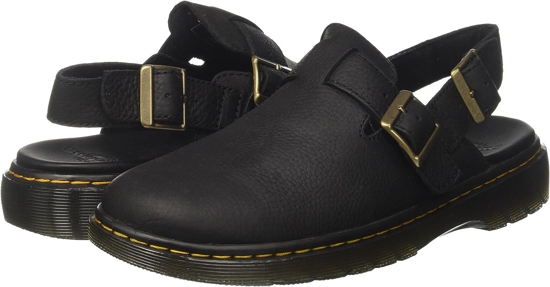Martens Jorge II Black Sandal Dr
