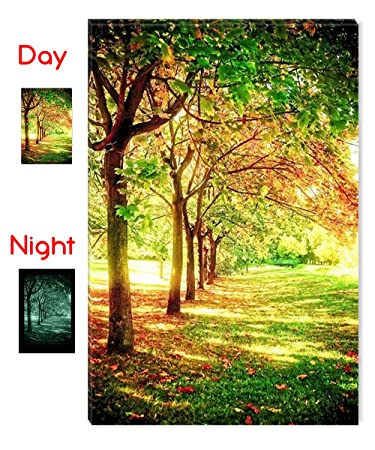 Startonight Wall Art Canvas Trees Of Life, Nature USA Design For Home  Decor, Dual