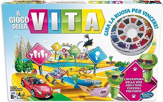 Hasbro Gaming – El Juego de la Vida - Juego de Mesa en Caja ...