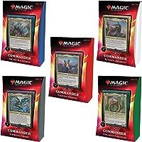Magic: The Gathering Ikoria: Lair of Behemoths Commander Decks | All 5 Decks | 20 Foil Legendary Creatures (C74210000)