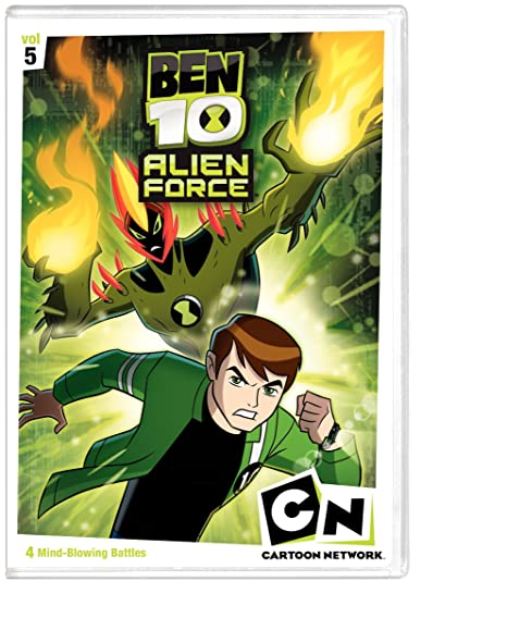 Amazon in: Buy BEN 10 ALIEN FORCE:V5 DVD, Blu-ray Online at