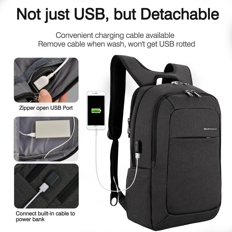 KOPACK Anti Thief Laptop Backpack