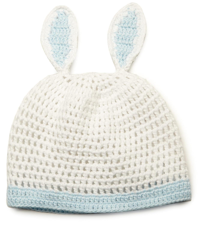 Amazon Mud Pie Baby Boys Newborn Knit Bunny Hat Whiteblue 0