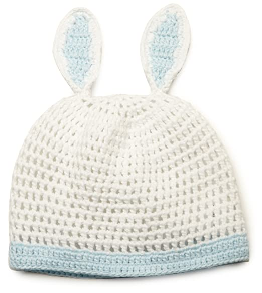 f132228aa56 Amazon.com  Mud Pie Baby-boys Newborn Knit Bunny Hat