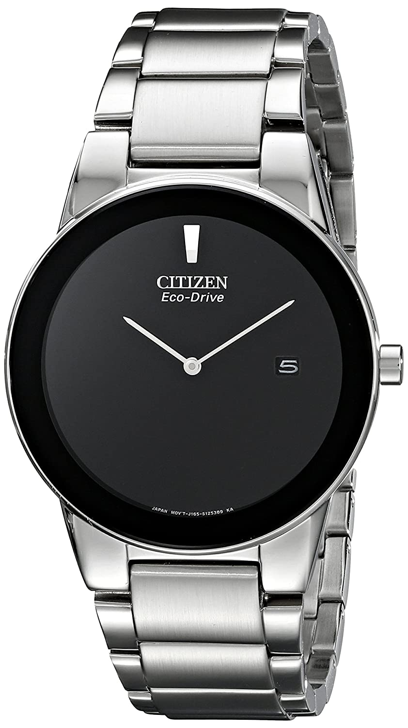 9671fedfc6519 Amazon.com  Citizen Men s Eco-Drive Axiom Stainless Steel Watch ...