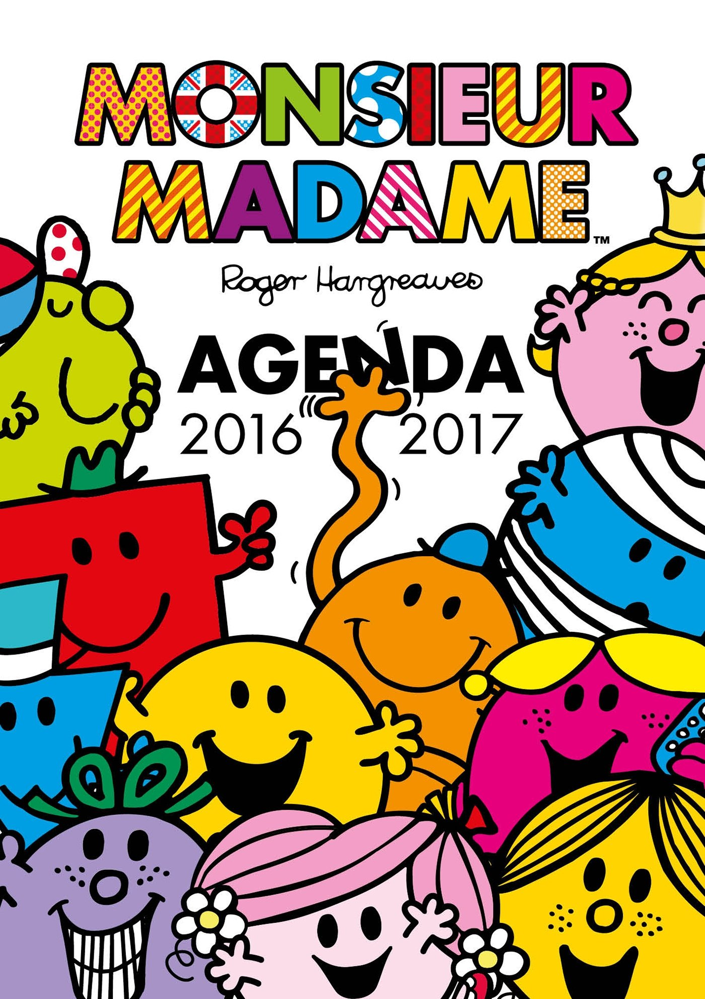 Monsieur Madame - Agenda 2016-2017: Amazon.es: Roger ...