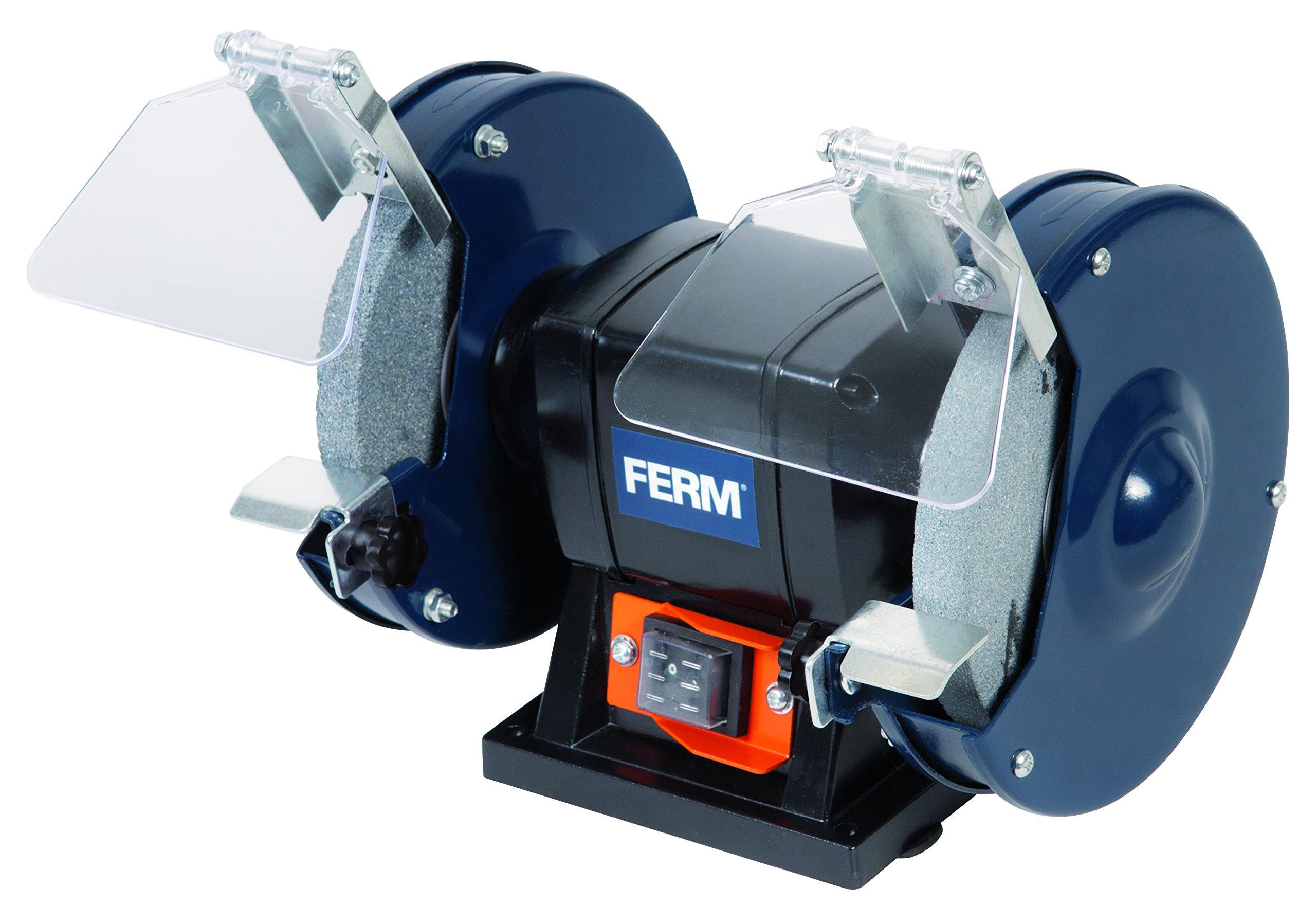 FERM Molatrice da banco 150W 150mm - Incl. 2 mole product image