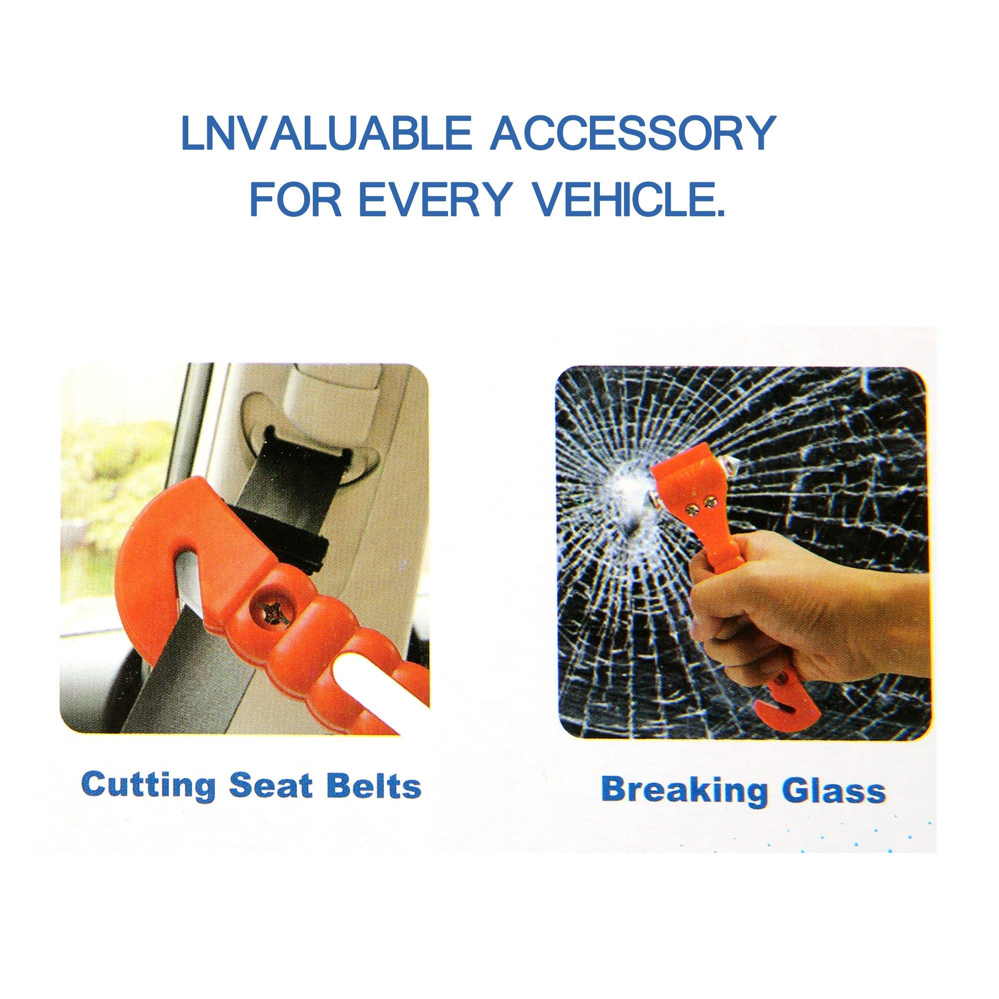 Kindsells Car Auto Emergency Safety Hammer Belt Window Glass Breaker Punch Cutter Bus Escape Rescue Tool Kit Survival Gear