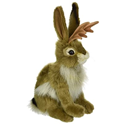 "HANSA Jackalope Plush Animal Toy, 9"": Toys & Games"