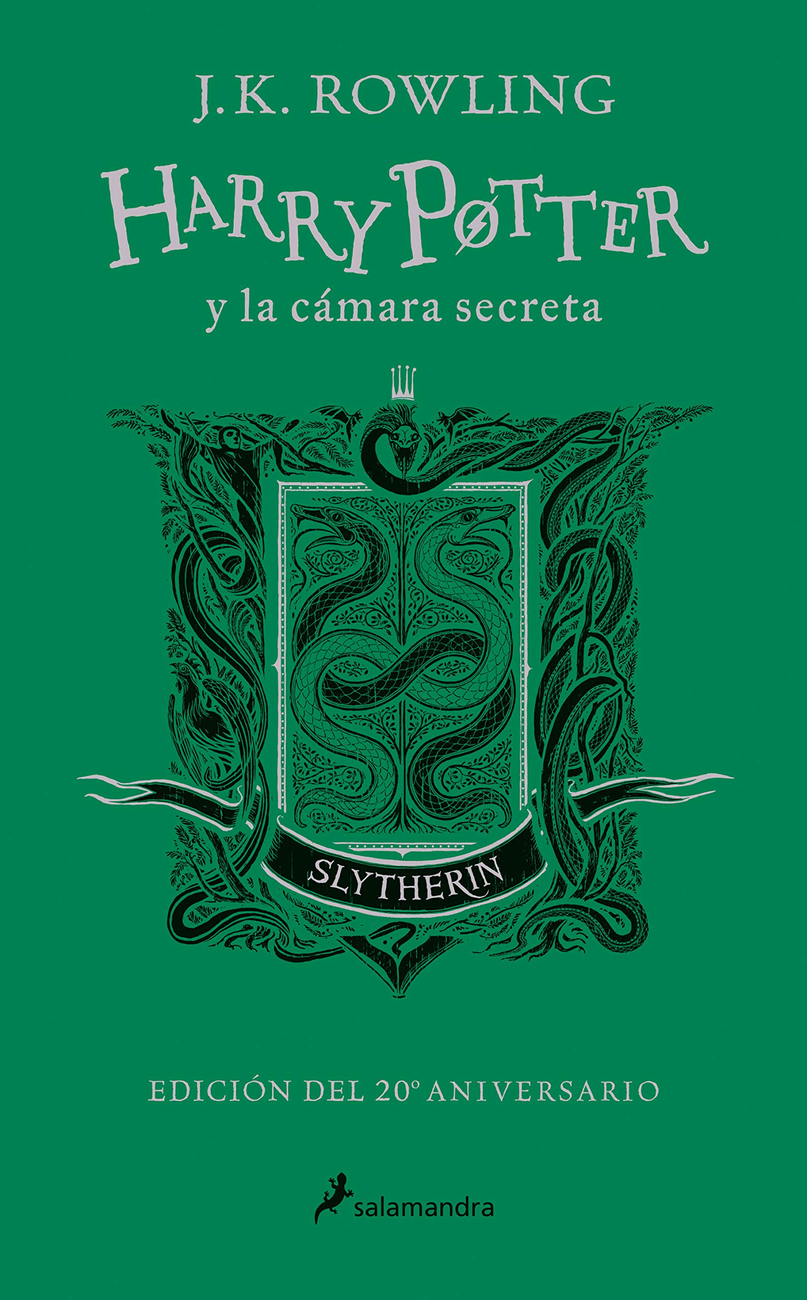 Harry Potter y la cámara secreta edición Slytherin del 20º ...
