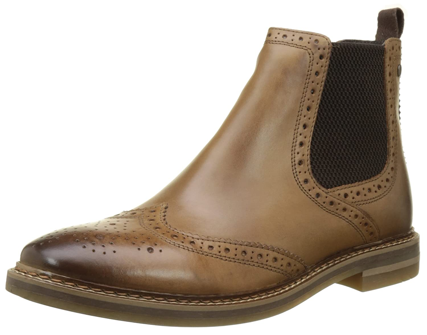 Base London Riley Stiefel Herren Riley London Chelsea Stiefel London Beige (Tan ... a348e6