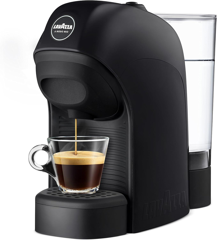 Lavazza LM800 Tiny Independiente Máquina de café en cápsulas 0,75 L Semi-automática - Cafetera (Independiente, Máquina de café en cápsulas, 0,75 L, Cápsula de café, 1450 W, Negro): Amazon.es: Hogar
