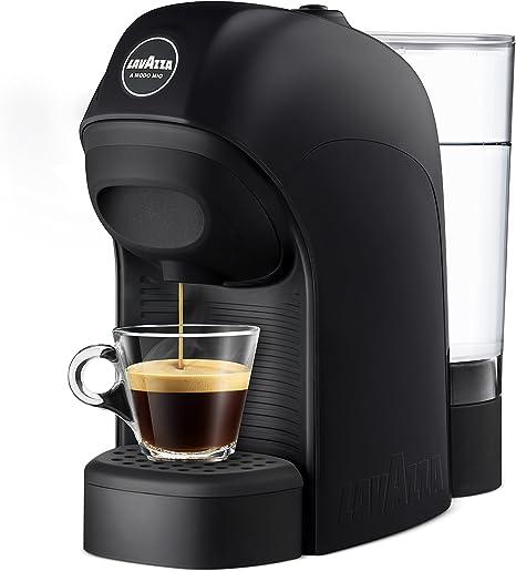 Lavazza LM800 Tiny Independiente Máquina de café en cápsulas 0,75 L Semi- automática - Cafetera (Independiente, Máquina de café en cápsulas, 0,75 L, Cápsula de café, 1450 W, Negro): Amazon.es: Hogar
