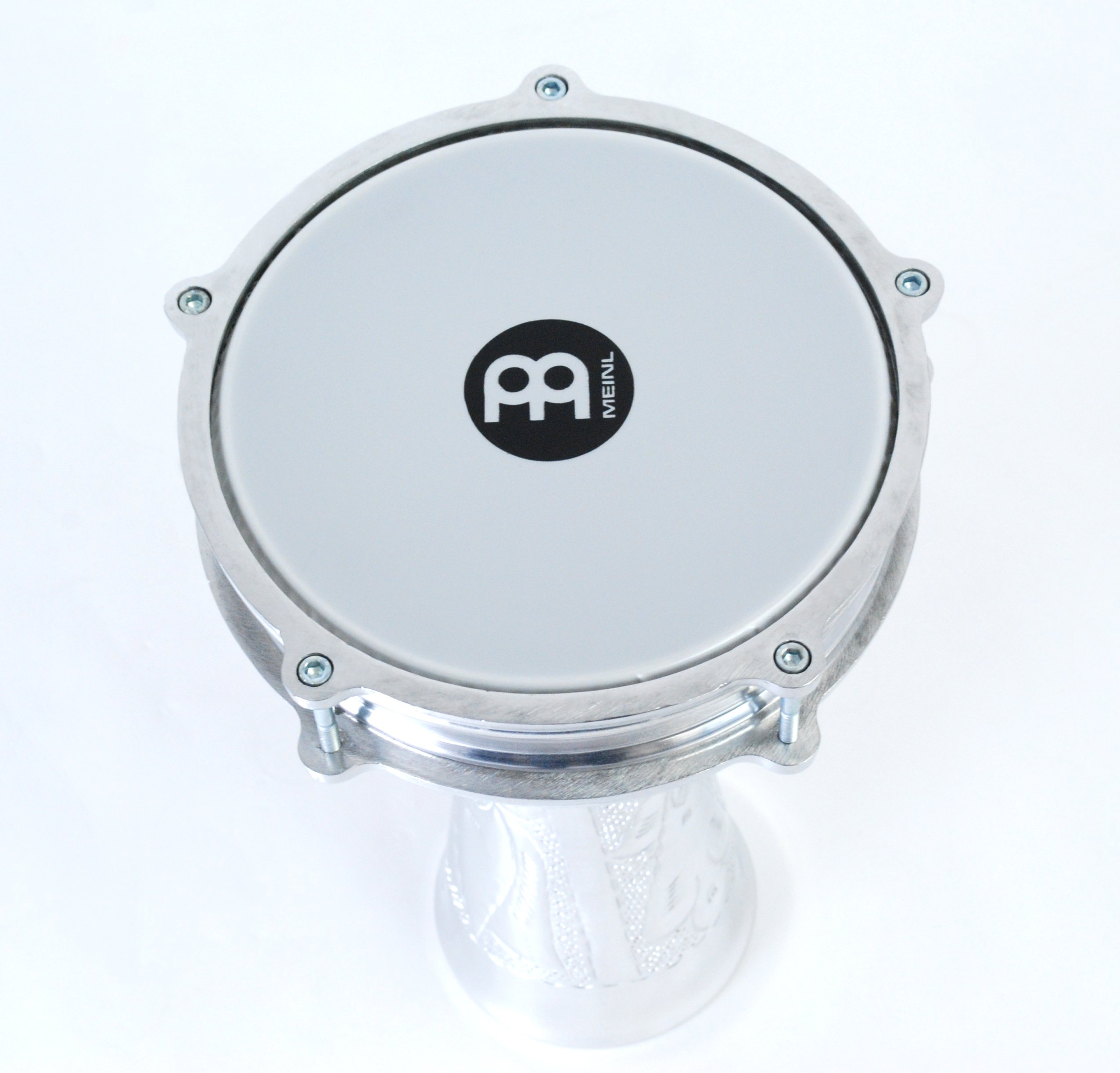 Meinl Percussion Darbuka with Hand Hammered Aluminum Shell-Made in Turkey-8'' Tunable Synthetic Head, 2-Year Warranty (HE-114) by Meinl Percussion (Image #5)
