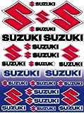 Sticker Autocollant 28x39cm Planche Suzuki