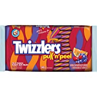 TWIZZLERS Licorice Candy, Fruit Punch Pull N' Peel, 340 Gram, 12 Count