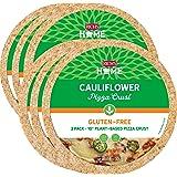 "Rich's Home Cauliflower Pizza Crusts, 6 Crusts, Gluten Free, Vegan, 10"" Flatbread"