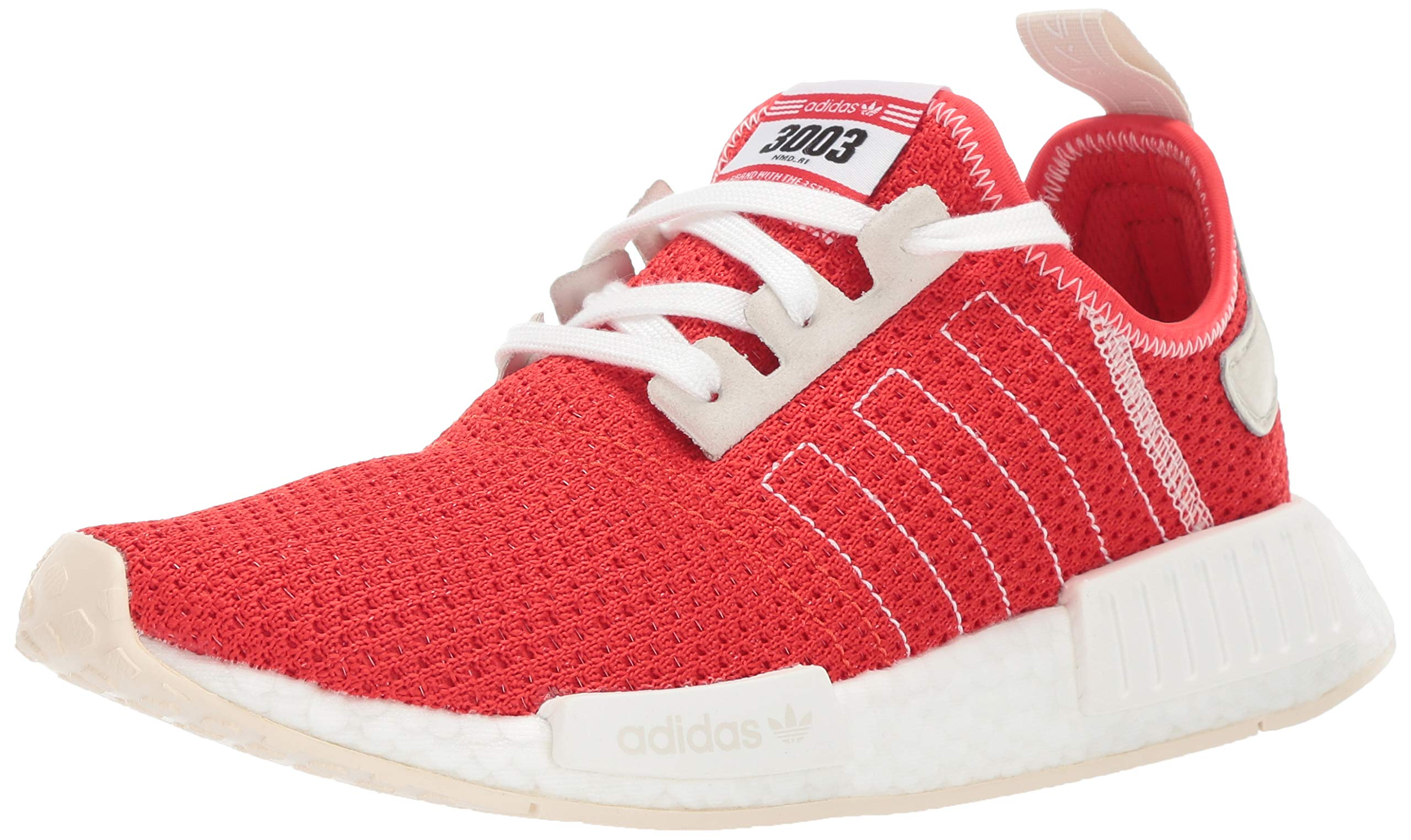 adidas Originals Men's NMD_R1 Running Shoe, Active red/Ecru Tint, 4.5 M US by adidas Originals (Image #1)