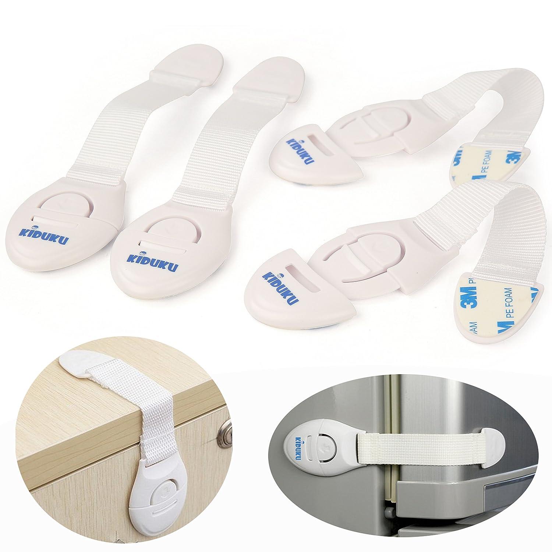 KIDUKU® 6er Set Schubladensicherung Kindersicherung ...