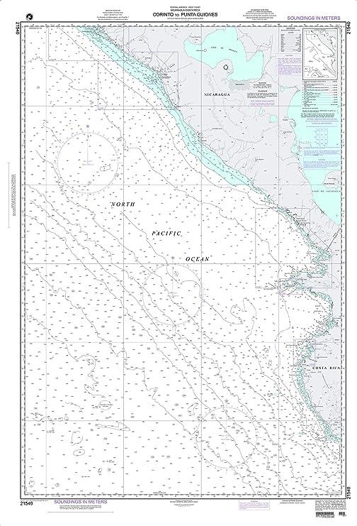 NGA Chart 21540-Corinto to Punta Guiones