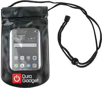 DURAGADGET Funda Impermeable Negra para Smartphone Huawei P9 / P9 ...
