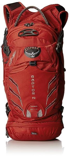 Mochila de hidratación OSPREY RAPTOR 14 Color Rojo: Amazon.es: Deportes y aire libre