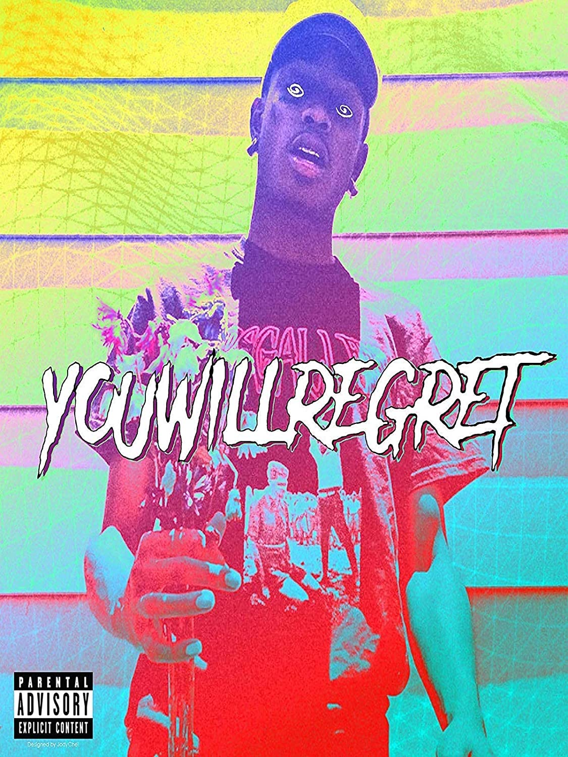 You Will Regret 12 x 16 inch Poster Bhurma Collection self Thick SKI MASK The Slump GOD