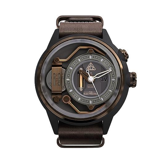 """The Electricianz reloj de caballero """"MOKAZ"""" ..."""
