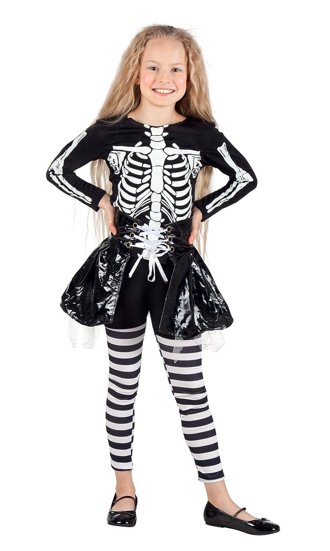 Boland 78075 - Chica Esqueleto Disfraz Niño: Amazon.es: Juguetes y ...