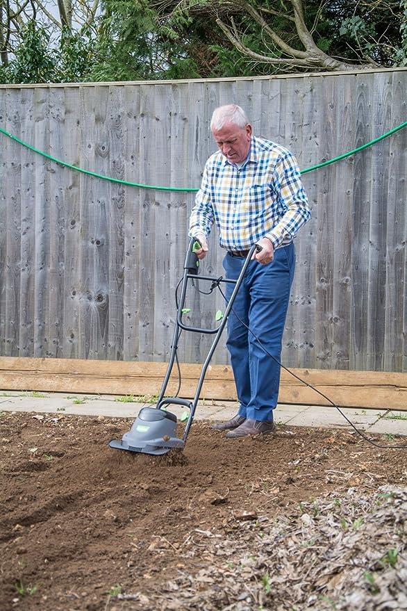 Handy Thet-a Electric Garden Tiller 800w: Amazon.es: Jardín